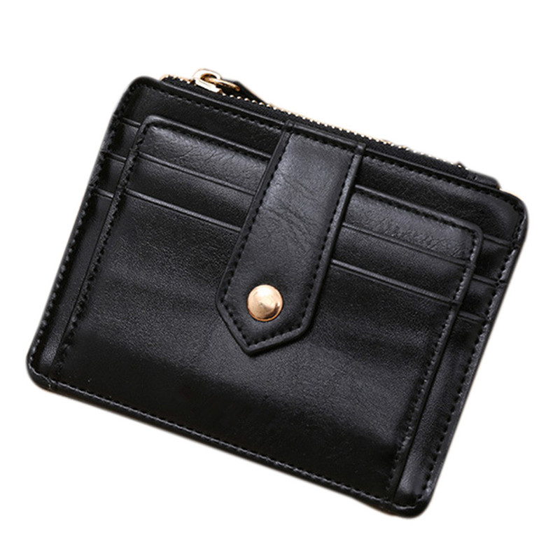 Dames Mini-rits Creditcard ID houders Geldclip Portemonnee Porte - Portemonnees en portefeuilles