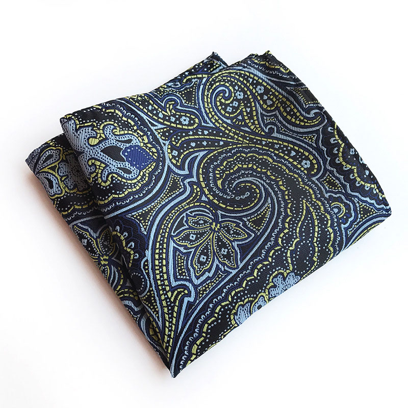 European And American Fashion Dacron Printed Suit Pocket Square FY18082302