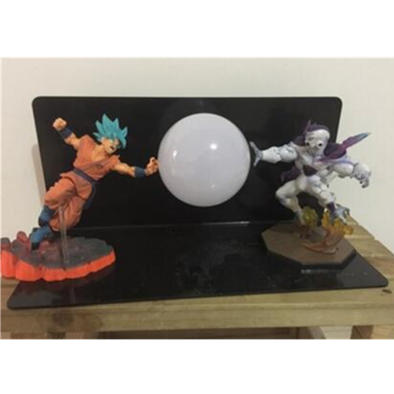 5 Dragon Ball Z Super Saiyan VS Frieza With LED Light Table lamp PVC Action Figure Collectible Model Toy D4325 Dragon Ball Z Super Saiyan VS Frieza With LED Light Table lamp PVC Action Figure Collectible Model Toy D432