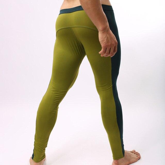 06ce7af52043d Cómodo flexibles Cuerpo construcción Leggings hombres gym Sport Pantalones  estrechos hombre entrenamiento apretado Pantalones joggers Correr