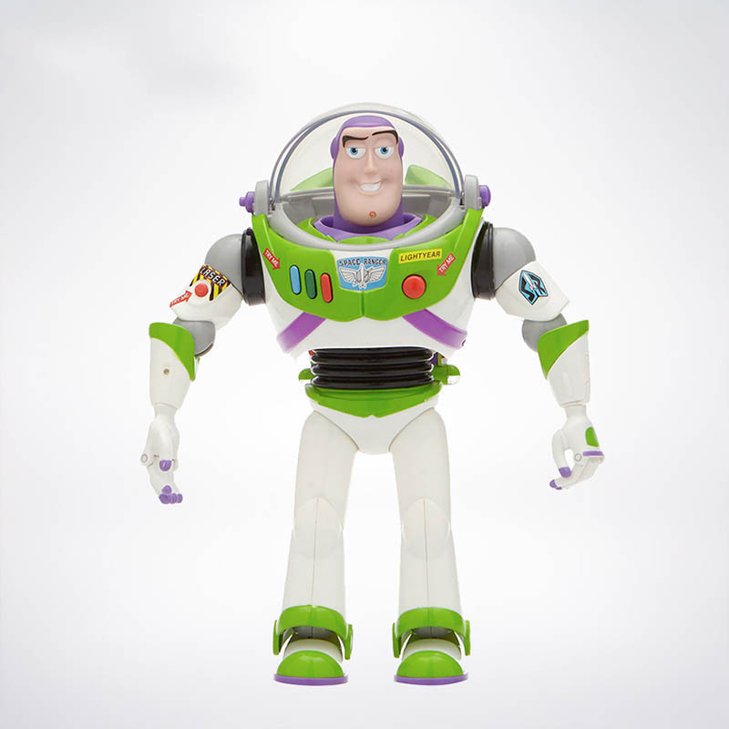 Disney Action-Toys Toy-Story Walk-Dolls Wings Buzz Lightyear Large 4-Talking For Kids