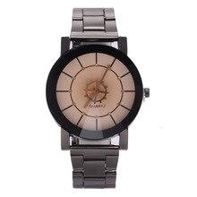 Original Marca Famosa De Quartzo Casal Relógios Das Mulheres Dos Homens de aço inoxidável Relógio De Pulso De Luxo de Moda Relógio Ocasional Relogio masculino