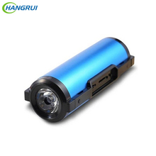 Real 5500 mAh Banco de la Energía Mini Altavoz Bluetooth Al Aire Libre Súper Linterna Bicicleta Altavoz Para Samsung Nota 7 iPhone 7 Xiaomi MP3