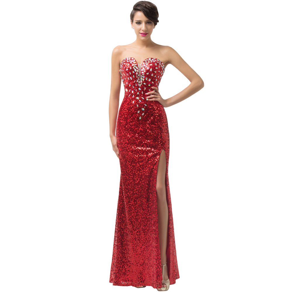 Online Buy Wholesale red prom gown from China red prom ...