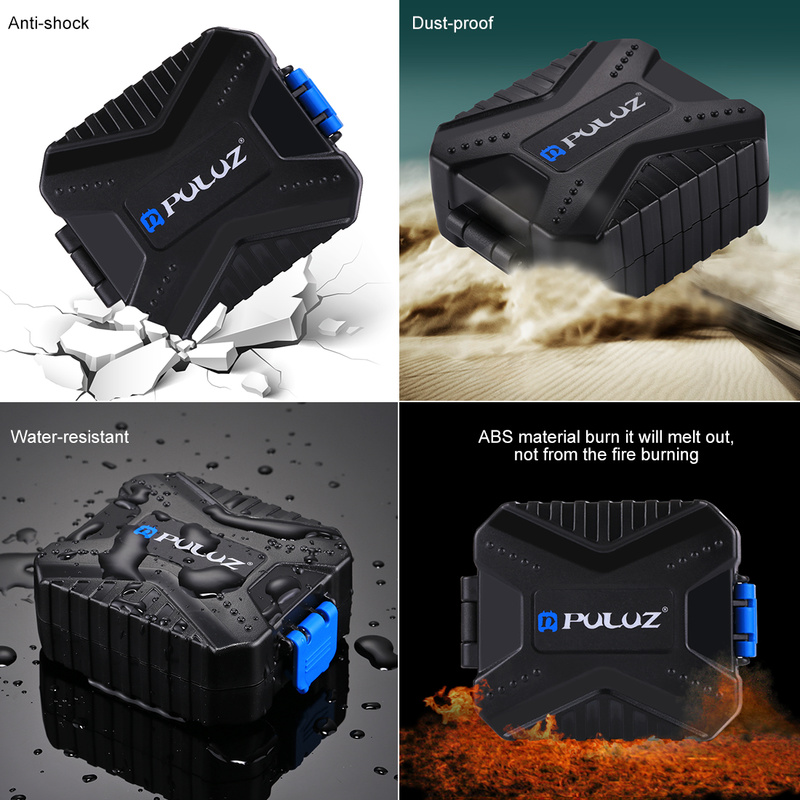 Купить с кэшбэком Camera Memory Card Case Holder Waterproof  XQD CF TF SD Card Box Storage Package Card Cases