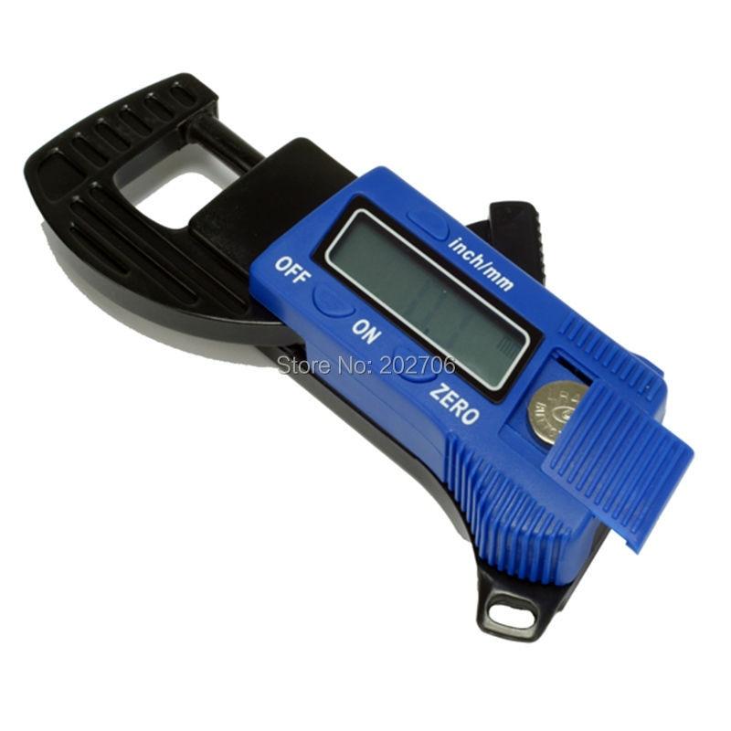 0-12,7 мм Цифровой штангенциркуль пластиковый цифровой толщиномер Мини толщиномер тестер