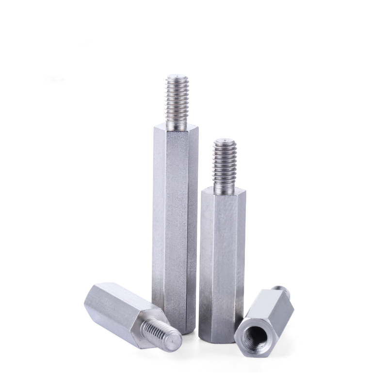 Hex Carbon Steel Male Female Standoff Stud Board Pillar Computer Hexagon PCB Motherboard Spacer Bolt Screw Nickel Plated M3 M4 in Screws from Home Improvement