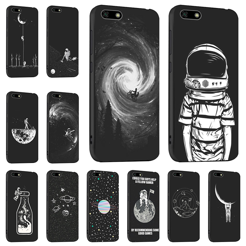 Cute Silicon <font><b>Case</b></font> For <font><b>Huawei</b></font> Y5 Prime 2018 <font><b>Cases</b></font> <font><b>Cover</b></font> For <font><b>Huawei</b></font> <font><b>Y9</b></font> P Smart <font><b>2019</b></font> 2018 P30 Lite Pro Honor 8X Y3 Y5 2017 Coque image