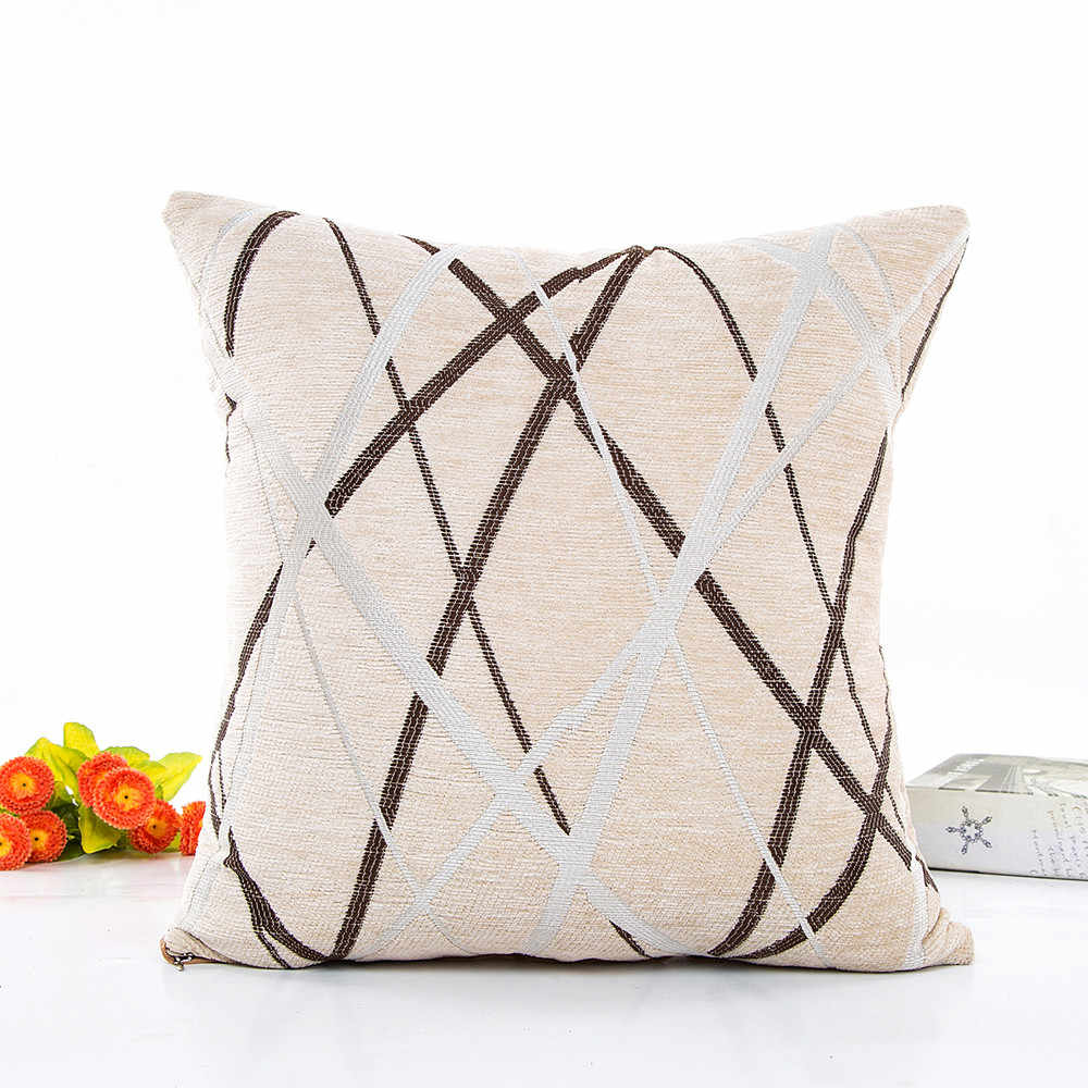 Decorative Cushion Covers Throw Pillow Sofa Removable Washable Soft Waist Cushions Home Decoration