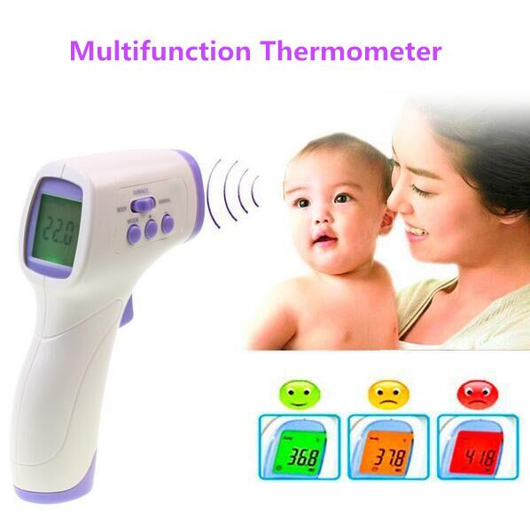 Ventas calientes! médico Estándar de infrarrojos de Alta Calidad Precisa termómetros Infantiles Bebé cuidado de adultos LCD Oídos electrónicos Termómetros