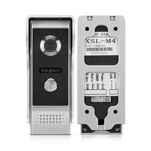 Дверной телефон домофон наружная панель вызова блок для квартиры домашней безопасности видео-телефон двери дверной звонок Система ИК ночного видения
