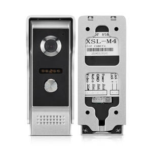 Phone-Intercom Door-Phone for Apartment Home-Security Video Doorbell-System Ir-Night-Vision