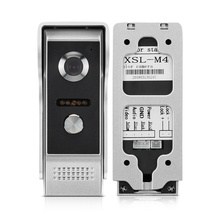 цена на Door Phone Intercom Outdoor Call Panel Unit for Apartment Home Security Video Door Phone doorbell System IR Night Vision