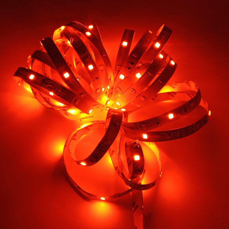 HTB1eqhGSCzqK1RjSZFjq6zlCFXaS RGB LED Strip Light SMD 2835 5M Waterproof RGB Tape DC12V Ribbon diode led Strips Light Flexible Stripe Lamp IR WIFI Controller