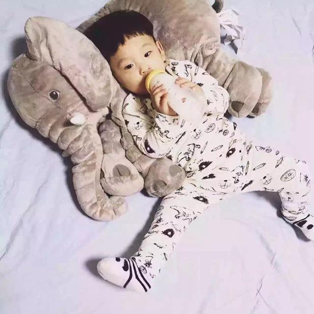 2016 Nova Venda Quente Do Bebê Elefante Bebê Amamentação Travesseiro Travesseiros Cintura Criança Crianças Travesseiro Bonecos de Pelúcia Para Bebês