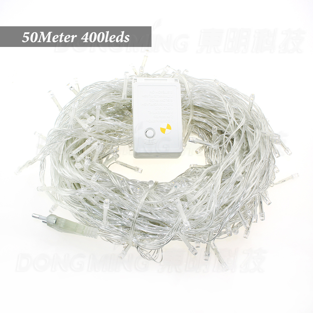 AC110V/220V 50M 500LEDS wedding party decoration LED christmas lights outdoor Twinkle tr ...