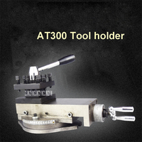New AT300 Tool Holder Mini Lathe Accessories Metal Lathe Holder Tool Assembly Quick Change Lathe Tool Holder Tool 80mm Stroke