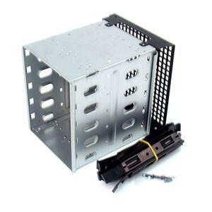 Nieuwe Grote Capaciteit Rvs Hdd Harde Schijf Kooi Rack Sas Sata Harde Schijf Schijf Tray Caddy Voor Computer Accessoires qiang(China)