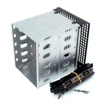 新しい大容量ステンレス鋼hddハードディスクドライブケージラックsas sataハードドライブのディスクトレイキャディーコンピュータアクセサリー強