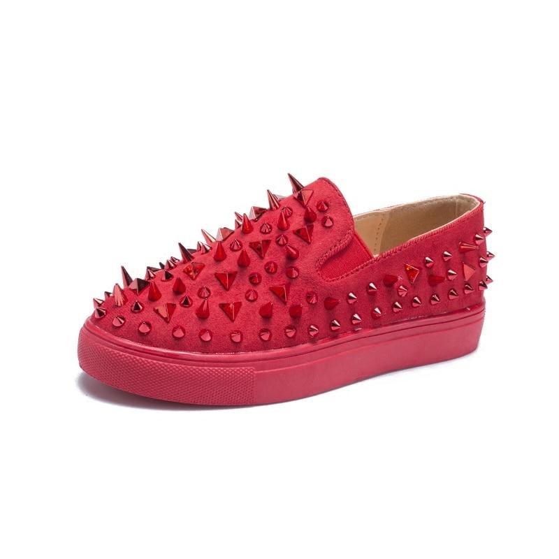 Marque Luxe Été Nouveau Sneaker Gold Chaussures Casual Femmes Red aOwxqp6d6