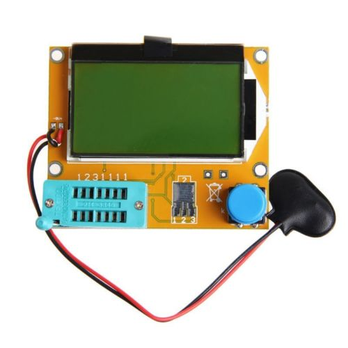 Mega328 Transistor Tester de triodo capacitancia ESR Metro MOS/PNP/NPN L/C/R
