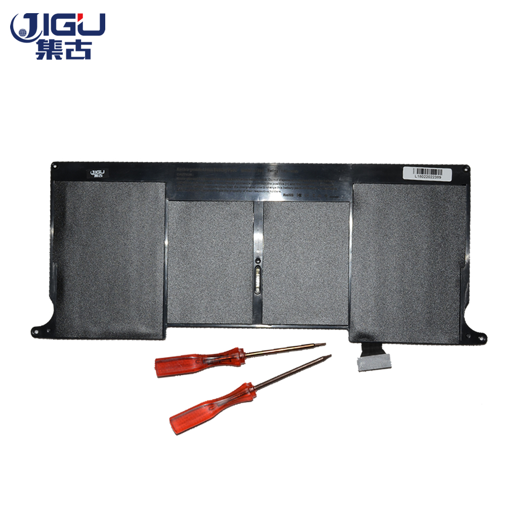 JIGU Laptop Battery For Apple MacBook Air 11.6-inch MC968LLA MacBook Air MJVM2CHA MJVP2CHA 11.6-inch MC969LLA Replace:
