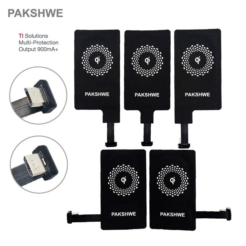 Android Qi Drahtlose Ladegerät Empfänger Micro USB Lade Adapter TI-Lösungen für Sony Alle Micro-USB Smartphones Universal