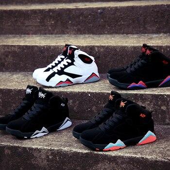 Nouveau Design Original chaussures de basket-ball mâle Couple pas cher baskets respirant hommes bottes soutien confortable dur Court garçons Cool