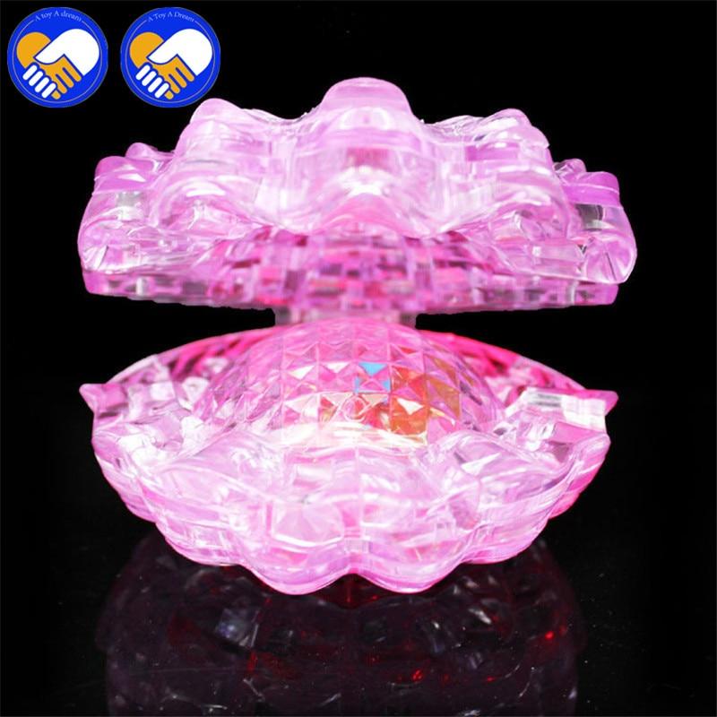 Un jouet un rêve 3D Puzzle bricolage jouets stéréo cristal coquille forme Puzzle assemblé bricolage perle coquilles modèle meilleur Puzzle jouets anniversaire Gi