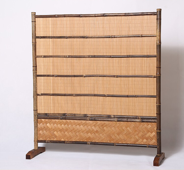 Bamboo Screen Room Divider Partition Wall for Bedrooms Japanese ...
