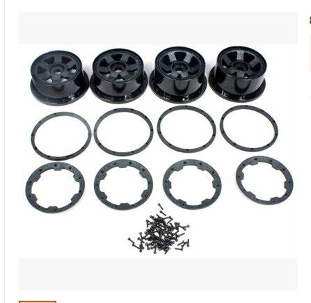KIT de roues ROVAN avec anneau de blocage et vis pour HPI BAJA 5 T King Motor TRUCK 85098