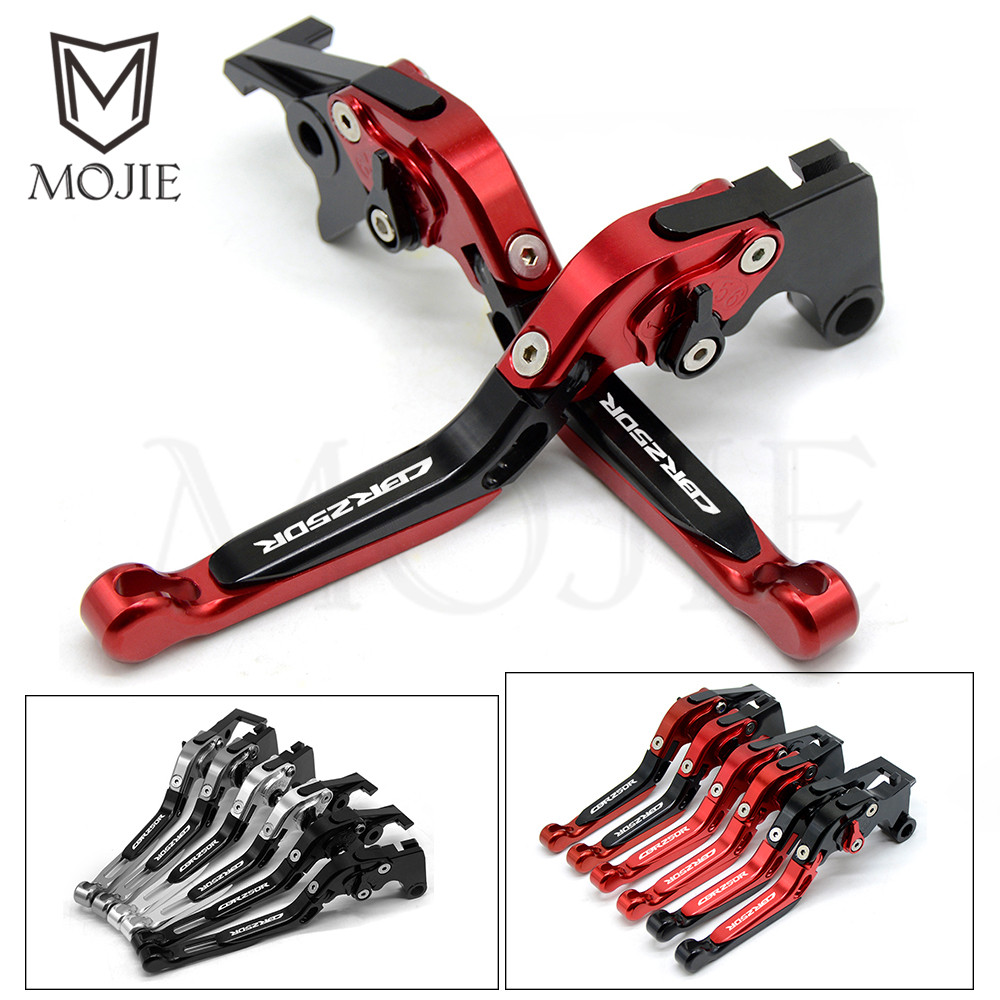 For HONDA CBR250R CBR 250R CBR 250 R 2011 2013 2012 Motorcycle Accessories CNC Aluminum Folding