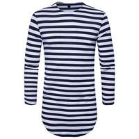 Brand 2017 New Men S Fashion Show Stylish Short T Shirt Asymmetrical Side Zipper Big Neck