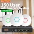 DHL Comfast wifi Coverage Solution 150 пользователь 1200 Squre wi-fi покрытия для гостиничной компании 300 М WI-FI AP с AC управление маршрутизатором
