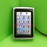 Hot Selling Metal Proximity RFID Door Controller Password Keypad Access Control System Wholesale Wiegand Input