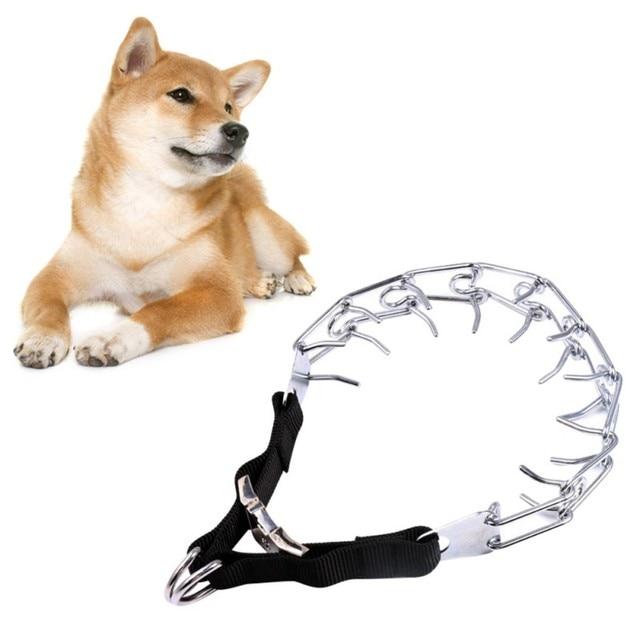 1 pz Pet Dog ChainTraining Collare Polo Choker Collari Pet Ferro Metallo Choke C