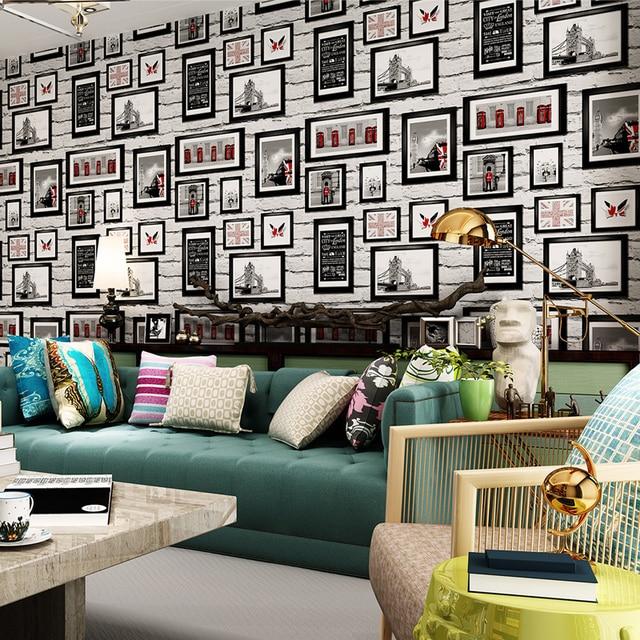 punahou moderne britische stil wei ziegel tapete bilderrahmen gem lde tapete sofa hintergrundbild.jpg 640x640 - Bilderrahmen Tapete