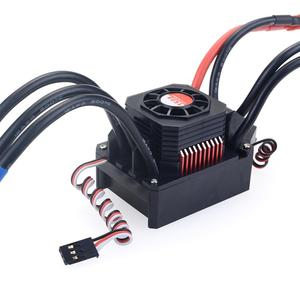 Image 2 - Waterproof Brushless Senseless Speed Controller 45A 60A 80A 120A 150A ESC for 1/8 1/10 1/12 1/20  RC Car