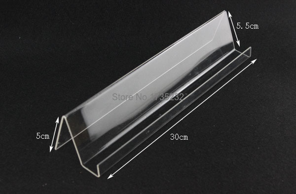50pcs Long Shelf Acrylic Display rack holder Mobile Cell