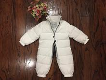 2018 New Baby Boys Girls Winter Rompers Children Outerwear Jackets Coats Thicken Winter Warm Hoodie Clothes Windproof Snowsuit