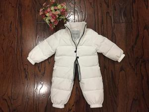 Image 4 - 2019 New Baby Boys Girls Winter Rompers Children Outerwear Jackets Coats Thicken Winter Warm Hoodie Clothes Windproof Snowsuit
