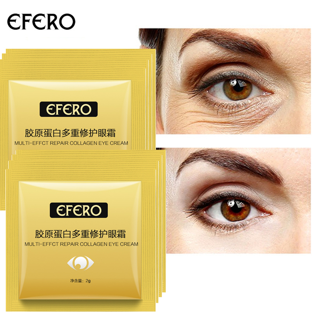 EFERO Anti Wrinkle Eye Cream Ageless Collagen Eye Cream Beauty Skin Care  Bags Under Eyes Dark Circles Remover Eyes Serum 30pcs on Aliexpress com |