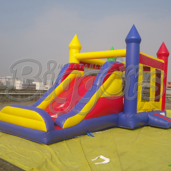FREE SHIPPING BY SEA High Quality Commercial Inflatable Bouncer Inflatable Slide Bouncy Castle With Air Blower For Sale free shipping by sea pvc commercial inflatable slide jumping slide with double lane for sale