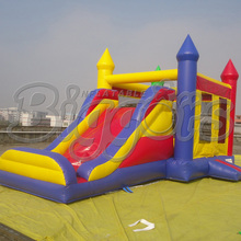 FREE SHIPPING BY SEA High Quality Commercial Inflatable Bouncer Inflatable Slide Bouncy Castle With Air Blower For Sale