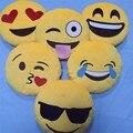 Rosto Sorriso emocional Emoji Pillow PP Cotton Crianças Risonho Bebê Almofadas Decorativas Sofá Sofá Cadeira Almofada de Pelúcia Brinquedo de Pelúcia