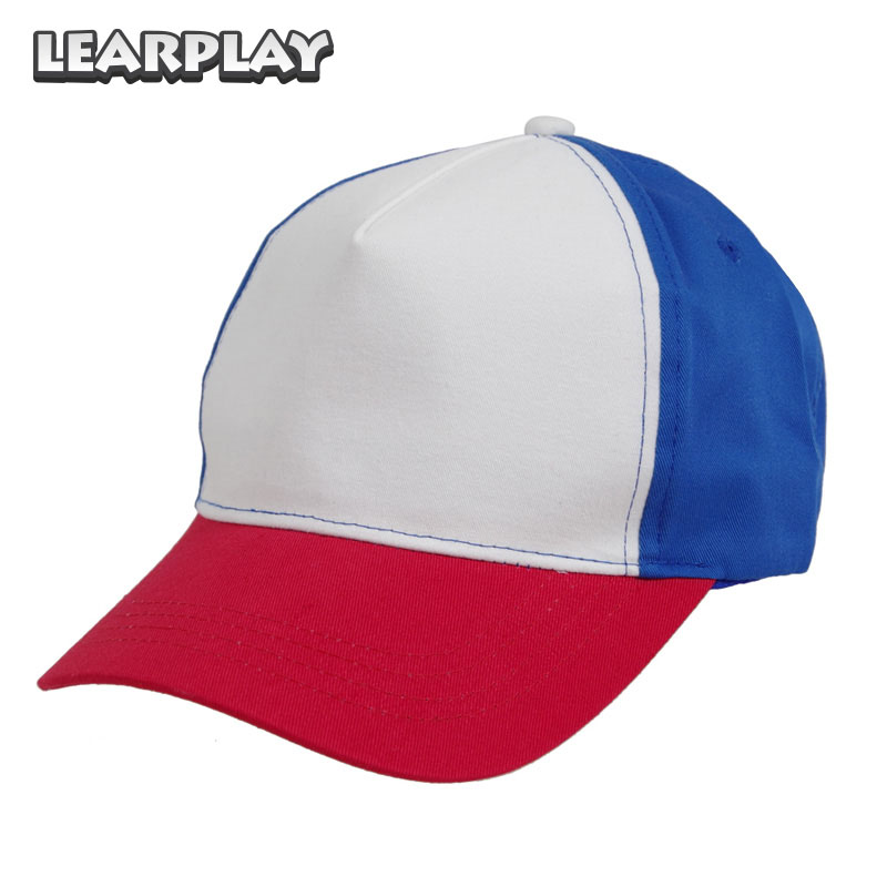 Stranger Things 2 Dustin Cosplay Cap Snapback Baseball Caps Adjustable Mesh Hat Halloween Costume Accessories