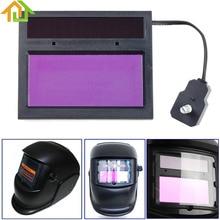 Solar Power Auto Darkening Welding Mask / Eye Mask Filter Lens for Welding Machine and Plasma Cutting Tool