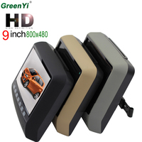 9 Inch Car Headrest Monitor With 800 480 Screen Support USB SD DVD Player Car MP5