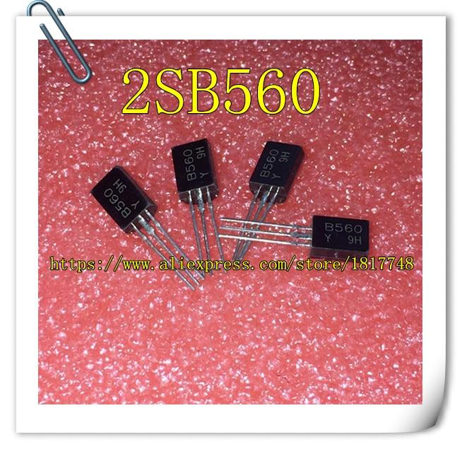 50pcs/Lot B560 2SB560 TO-92L IC