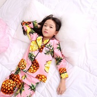 New Girls Boys Pajamas Sets Clothes Children Clothing Long Sleeve Sleepwear Kids Pajamas Sets New Trolls Girls Pajama YL292